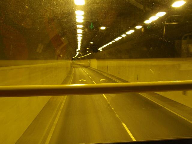 Dublin Port Tunnel.
