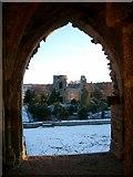 NJ0661 : Kinloss Abbey by nairnbairn