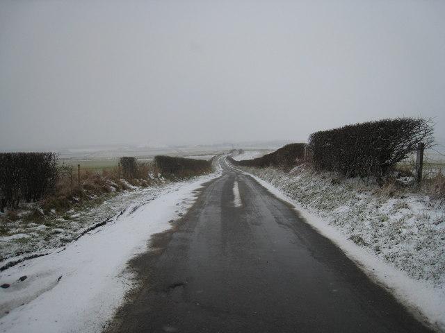 Kilton Thorpe Lane in winter