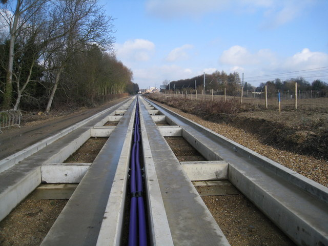 Guided bus rails & some colour