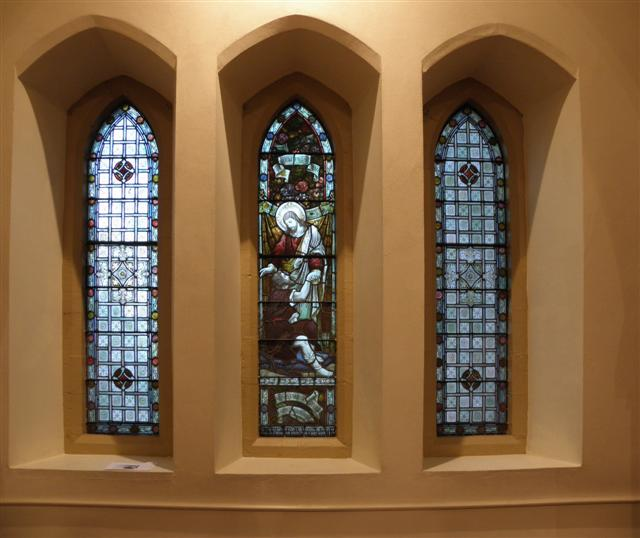 Memorial windows, St Columbas Church, Omagh by Kenneth  Allen
