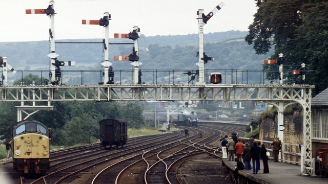 Signal Gantry On The Approach To 169 Alan Walker