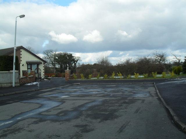 End of Stratheden Heights, Newtownards