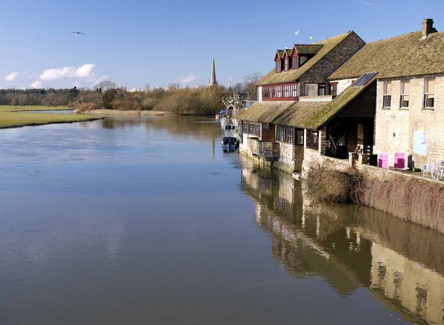 River Great Ouse at St Ives