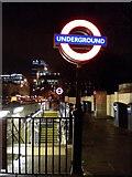 TQ2882 : Regent's Park Underground Station, Marylebone Road NW1 by Robin Sones
