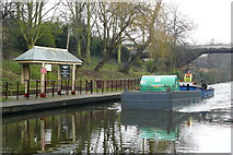 TQ2783 : On the Canal, by London Zoo by Peter Trimming