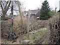 SJ2524 : Public Footpath between houses by John Firth