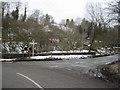 SJ2430 : Road Junction at bridge east of Rhydycroesau by John Firth