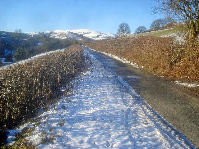 Lane to Gladestry