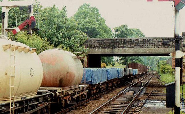 Goods train. Lisburn
