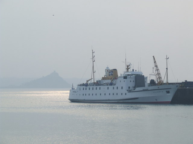 Ferry to the Scillies