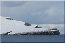 HP6611 : The Nev in snow, from Swinna Ness by Mike Pennington