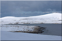 HP6410 : View north, in snow, from the Keen of Hamar by Mike Pennington
