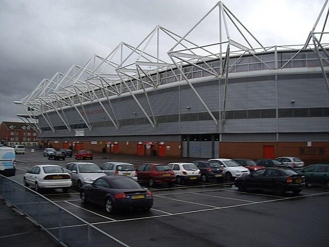 Northam Stand, St Mary's Stadium
