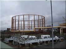 SU4212 : Northam gasworks by Stanley Howe