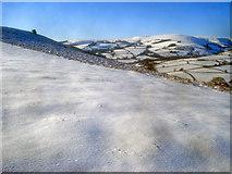 SO2455 : Snow-covered Hergest Ridge by Trevor Rickard