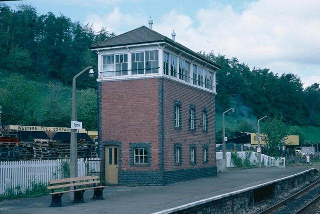 Former Signal Box, Torre, Torquay.