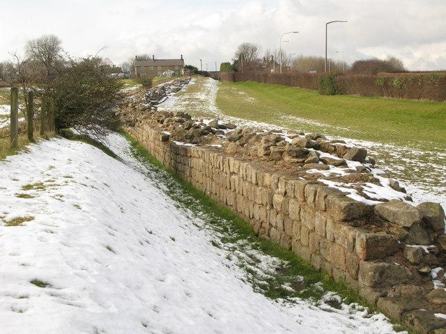 The masonry of Hadrian's Wall