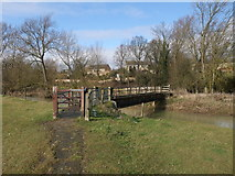 SP9599 : Jurassic Way crossing the Welland to enter Barrowden by Tim Heaton