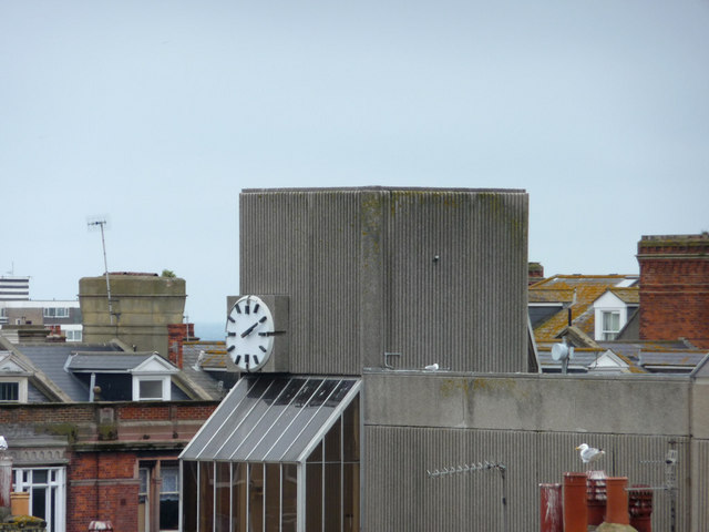 Hove Town Hall and Public Clock