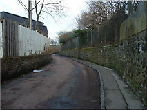 NT2774 : Clockmill Lane looking north-eastwards by kim traynor