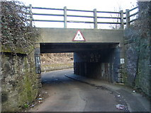 NT2774 : Clockmill Lane railway bridge by kim traynor