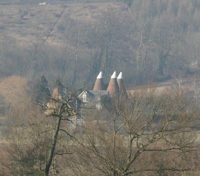 Filston Farm Oast house