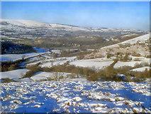 SO2456 : Small valley near Hanter Hill by Trevor Rickard