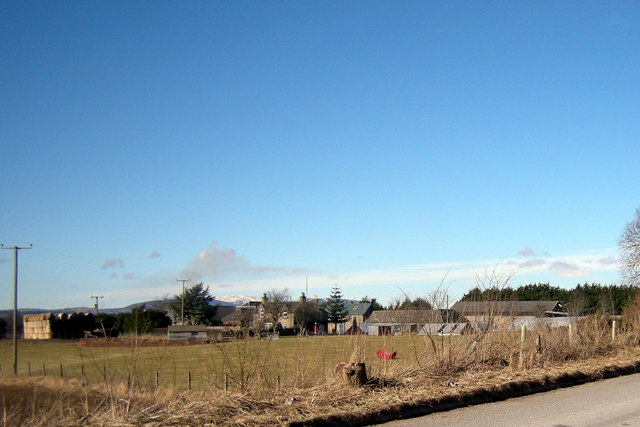 A View of Quilkoe Farm, Forfar
