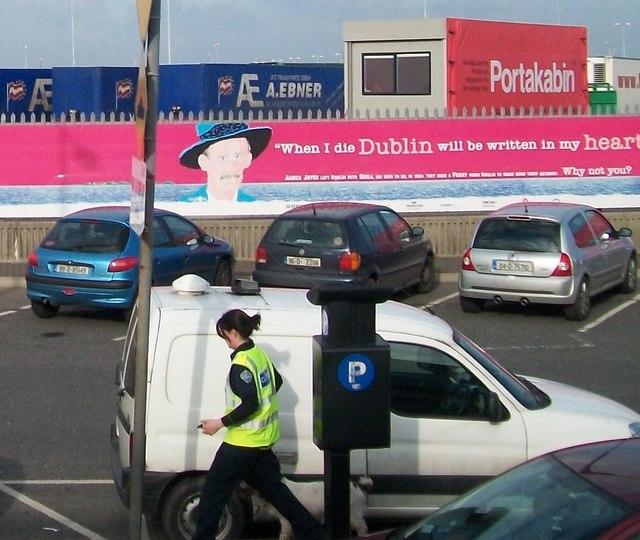 Irish Revenue Customs Canine Drug Detector Unit at Dublin Port