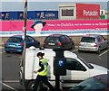 O2034 : Irish Revenue Customs Canine Drug Detector Unit at Dublin Port by Eric Jones
