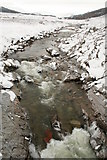 NN8596 : River Feshie looking upstream from the bridge by Peter Bond