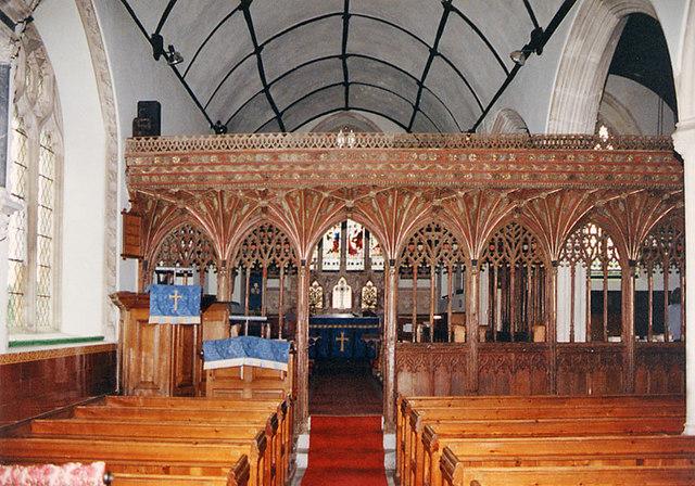 St Mary, Kentisbeare, Devon - East end