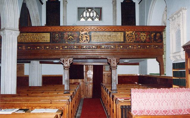 St Mary, Kentisbeare, Devon - West end