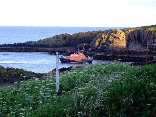 Peterhead Lifeboat on Exercise