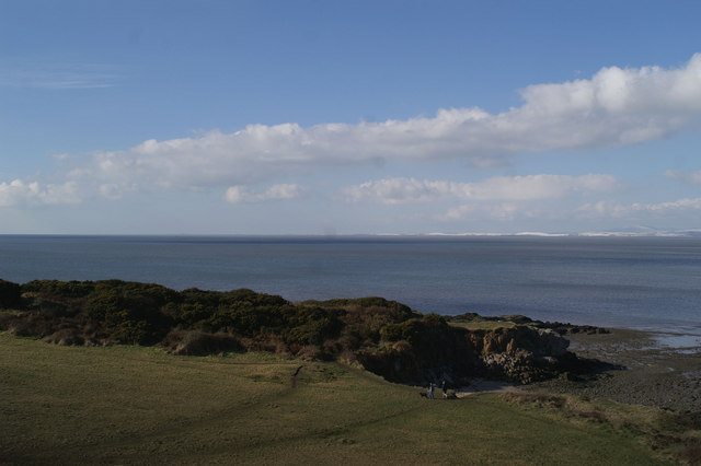 The view from St Patrick's Chapel