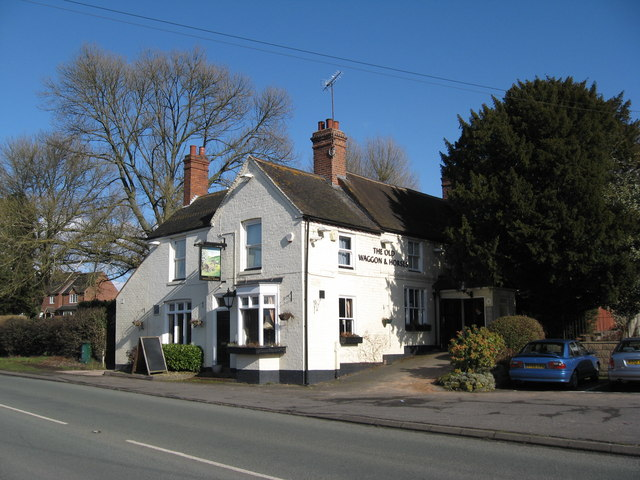 The Old Waggon and Horses, Iverley, Worcs