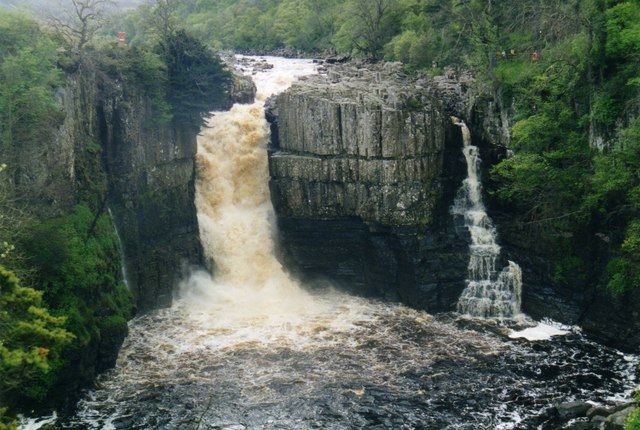 High Force from the Pennine Way