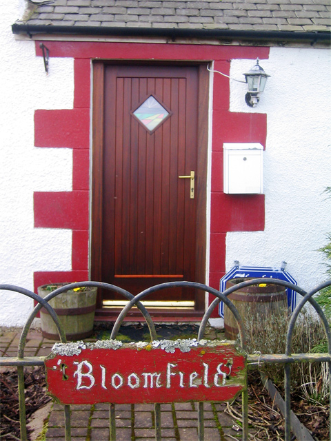Bloomfield: Front Gate