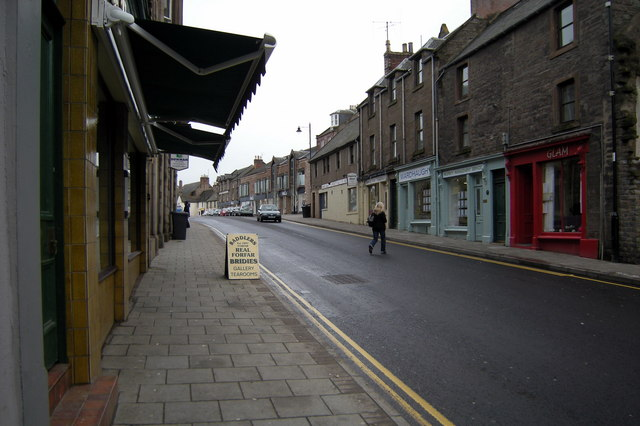 East High Street, Forfar