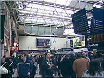 TQ3179 : Waterloo Station concourse #1 by Robert Lamb