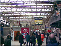TQ3179 : Waterloo Station concourse #2 by Robert Lamb