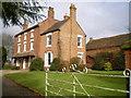 SJ7301 : New House farmhouse by Richard Law