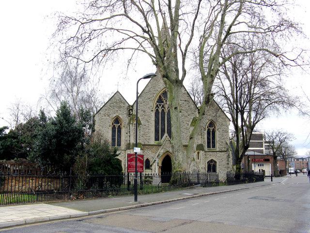 Haggerston:  All Saints Church, Haggerston Road