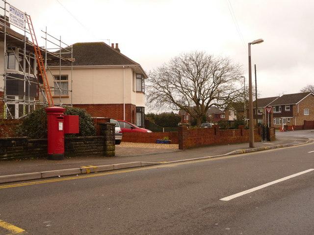 Parkstone: postbox № BH15 57, Pound Lane