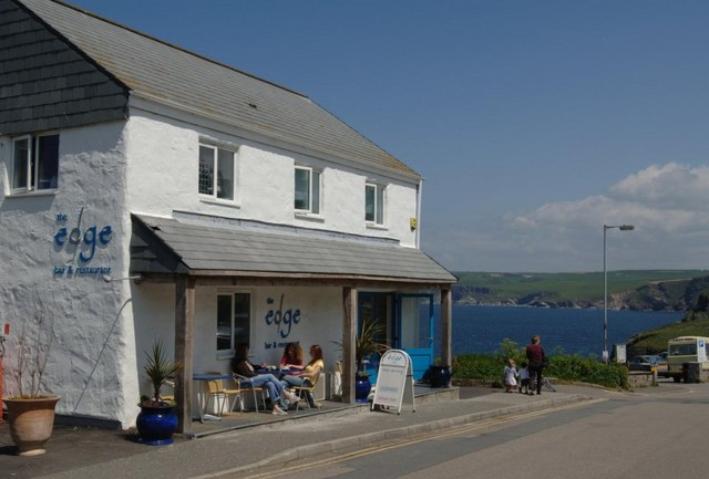 From The Edge restaurant Port Isaac by the coastal footpath.