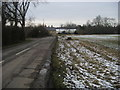 TL1156 : Colesden Road by Shaun Ferguson