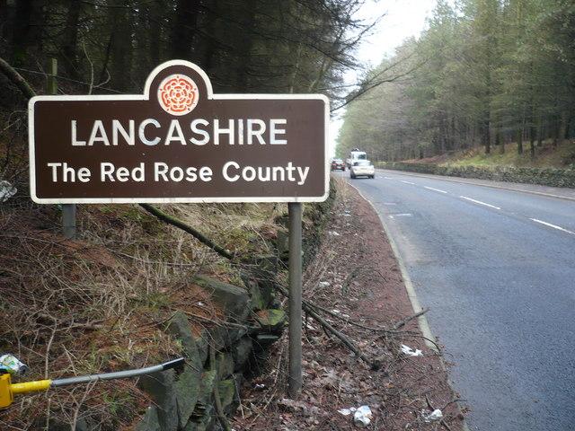Traffic Sign - Lancashire