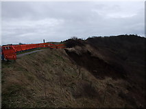 TA0684 : More landslips at Scarborough by phillip andrew carl taylor