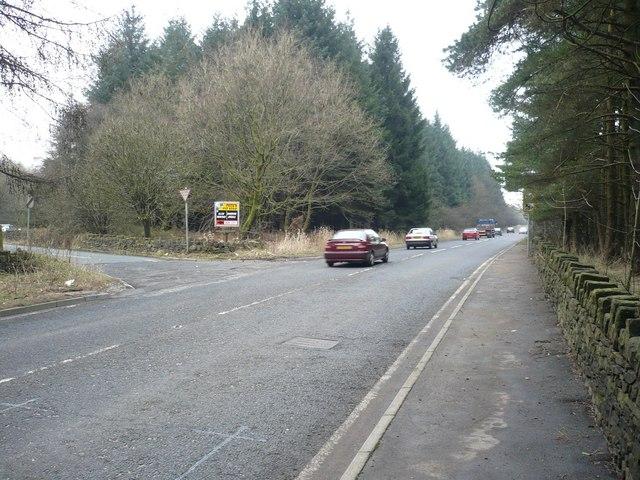 Bolton Road at Stones Bank Road